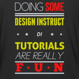 Doing some design instruct di tutorials are realy - Baseball T-Shirt