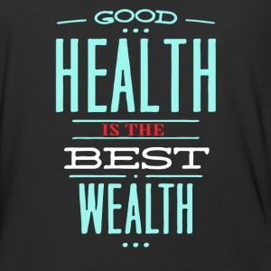 Health is the best wealth - Baseball T-Shirt