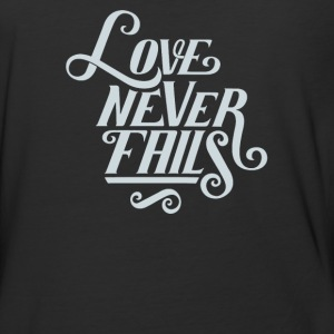 Love never fails - Baseball T-Shirt