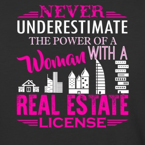 Real Estate License Shirt - Baseball T-Shirt