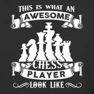 Awesome Chess Player Shirt - Baseball T-Shirt