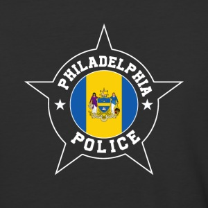 Philadelphia Police T Shirt - Philadelphia flag - Baseball T-Shirt