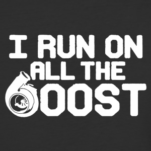 Run On All The Boost Shirt - Baseball T-Shirt
