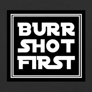 Burn Short First - Baseball T-Shirt