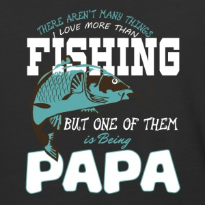 Proud Fishing Papa T Shirt - Baseball T-Shirt