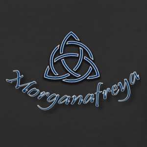 Morganafreya Celtic Knot Icon - Baseball T-Shirt