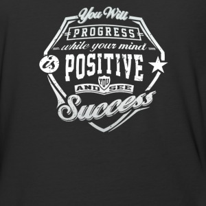 You will progress while your mind positive - Baseball T-Shirt