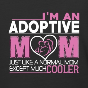 I'm An Adoptive Mom Just Like A Normal Mom T Shirt - Baseball T-Shirt