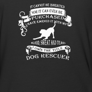 The title dog rescuer - Baseball T-Shirt