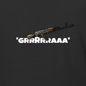 Ak47 GRRRRAAA Design - Baseball T-Shirt