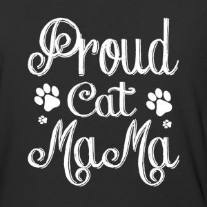 Proud Cat Mama T Shirt - Baseball T-Shirt