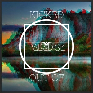 Kicked Out Of Paradise - Baseball T-Shirt
