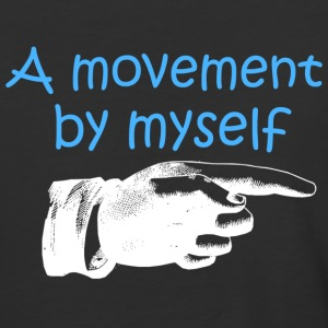 A Movement By Myself T Shirt - Baseball T-Shirt