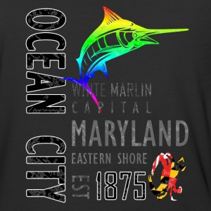 Ocean City Maryland White Marlin Capital - Baseball T-Shirt