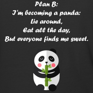 I'm becoming a panda - Baseball T-Shirt