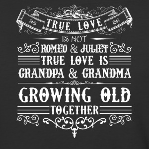 Grandma And Grandpa Growing Old Shirt - Baseball T-Shirt