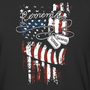 Veterans Day Remember Shirt - Baseball T-Shirt