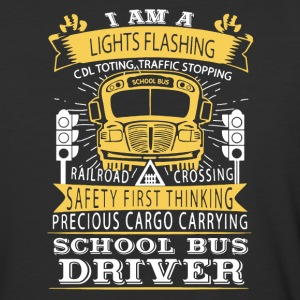 School Bus Driver Shirt - Baseball T-Shirt