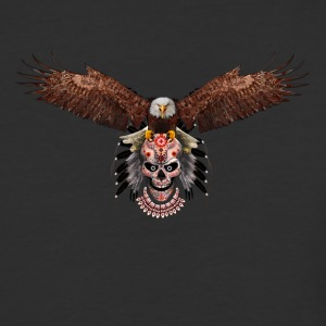 Indian Native Flying Eagle - Baseball T-Shirt
