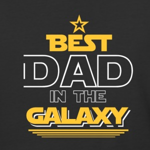 Best Dad In The Galaxy - Baseball T-Shirt