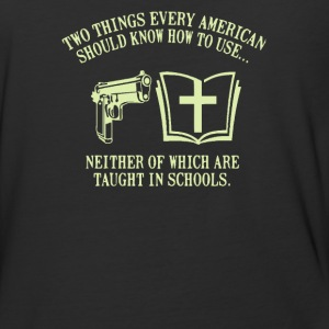 Neither of which are taught in schools - Baseball T-Shirt