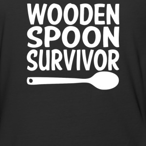Wooden Spoon Survivor - Baseball T-Shirt