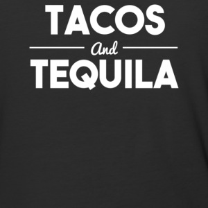Tacos and tequila - Baseball T-Shirt