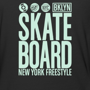 Skate board freestyle - Baseball T-Shirt