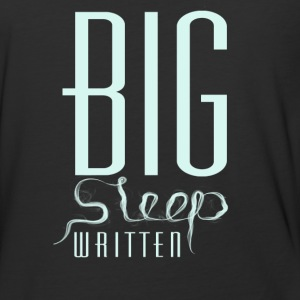 The big sleep written - Baseball T-Shirt