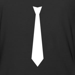 White Tie Suit - Baseball T-Shirt