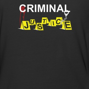 criminal justice - Baseball T-Shirt