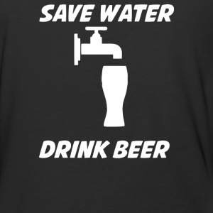 Save Water Drink Beer - Baseball T-Shirt