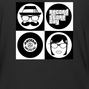 Hipsters Record Store Day Submission - Baseball T-Shirt