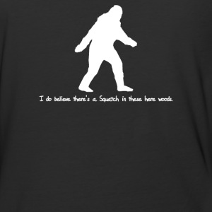 I Do In These Woods - Baseball T-Shirt