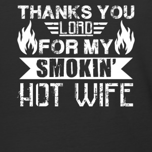 Smokin Hot Wife Shirt - Baseball T-Shirt