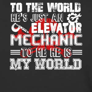 Elevator Mechanic Shirt - Baseball T-Shirt