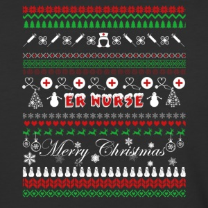 ER Nurse Shirt - ER Nurse Christmas Shirt - Baseball T-Shirt