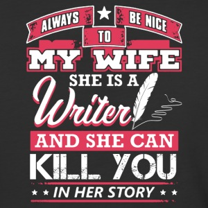 Writer Wife Shirt - Baseball T-Shirt