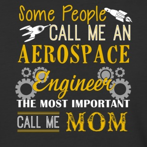 Aerospace Engineer Mom Shirt - Baseball T-Shirt