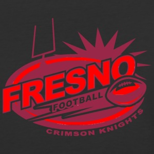 FRESNO FOOTBALL CRIMSON KNIGHTS - Baseball T-Shirt