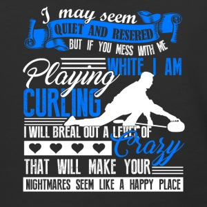 Playing Curling Shirt - Baseball T-Shirt