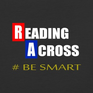 Reading Across Be Smart America - Baseball T-Shirt
