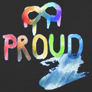 Gay Pride Proud - Baseball T-Shirt