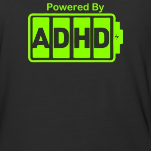 Battery Powered ADHD Energy - Baseball T-Shirt