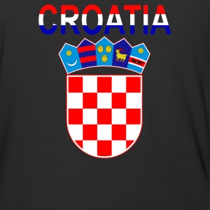 Croatia Coat Of Arms - Baseball T-Shirt