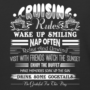 Cruising Rules Shirt - Baseball T-Shirt