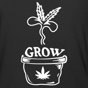 Grow Marijuana - Baseball T-Shirt