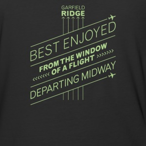 Best enjoyed from the window of a flight departing - Baseball T-Shirt