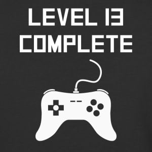 Level 13 Complete Video Games 13th Birthday - Baseball T-Shirt