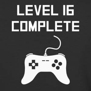 Level 16 Complete Video Games 16th Birthday - Baseball T-Shirt